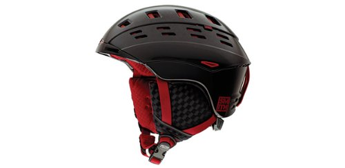 Smith Optics Unisex Adult Variant Snow Sports Helmet (Variant Black Red, Small) (Smith Optics Variant Helmet)