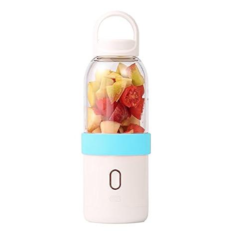 ZUHN 550 ml Licuadora Portátil USB Juicer Cup Fruta Vegetal ...