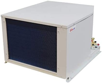 Turbo Air Walk-in Cooler 2 HP med temp hermetic Condensing Unit Outdoor with 16,380 BTUs w//PSC motor w//TXV Solenoid valve mounted