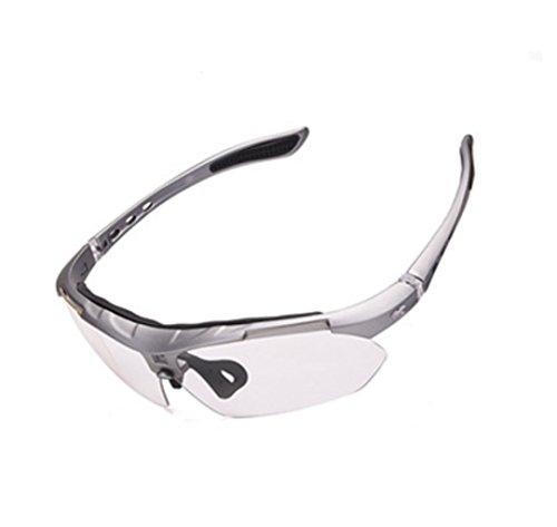 Plata Gafas Viento La miopía Sol Montar Prueba a de xqxCvwFf