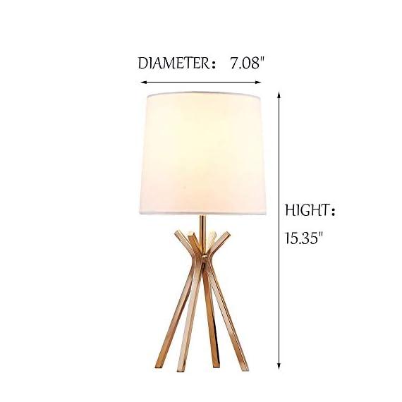 CASILVON Table Lamp YTL009G-2N (Rose) -  - lamps, bedroom-decor, bedroom - 31CQUvf7vaL. SS570  -