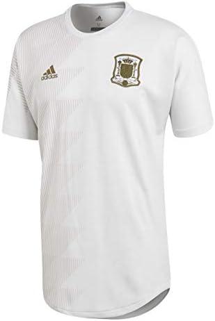 adidas España SSP 2017-2018, Camiseta, White, Talla S: Amazon.es ...