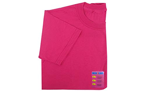 Jerzees 429BFU3-L Youth Tee, Large, Cyber Pink - Jerzees Youth Jersey Polo