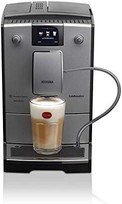 Nivona CafeRomatica 769 Independiente Máquina espresso 2,2 L - Cafetera (Independiente, Máquina espresso, 2,2 L, Molinillo integrado, Plata): Amazon.es: Hogar