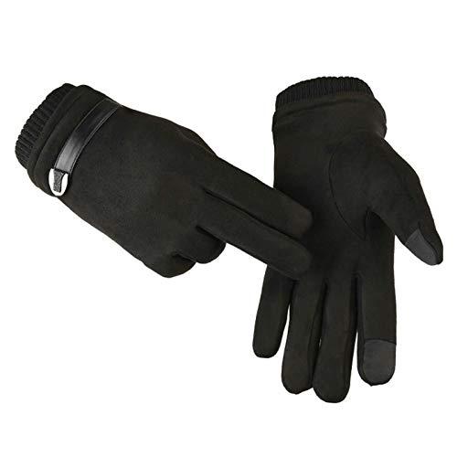Écran A53 Froid Protection épaissi Sport Gants Amdxd Contre Femmes Le Tactile De Noir wvOnH8