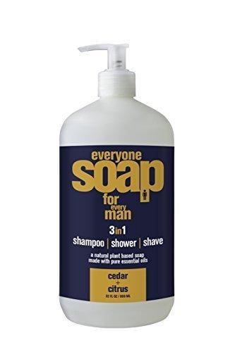 Everyone Soap Men Cedar & Citrus EO 32 oz Liquid (Pack of 2)