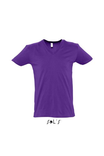 Short Sleeve Tee Shirt Master , Farbe: Dark Purple Gr. XL