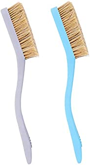 TWO STONES Climbing & Bouldering Brush with Natural Firm Boar's Hair Bristles and Durable Handle, Clim