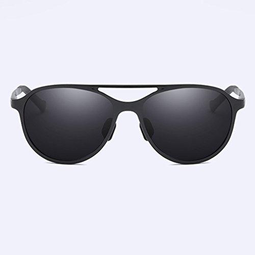 soleil de Lunettes magnésium UV de Noir polarisants soleil Hommes Lunettes UV Anti Mengonee volant de protection aluminium 400 d'extérieur Lunettes au wqSpXnIBx
