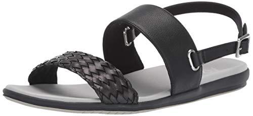 (Aerosoles A2 Women's First Watch Flat Sandal Black 7 M US)