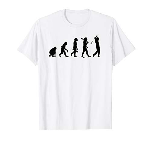 Evolution of a Golfer Funny Golf evolution T-Shirt ()