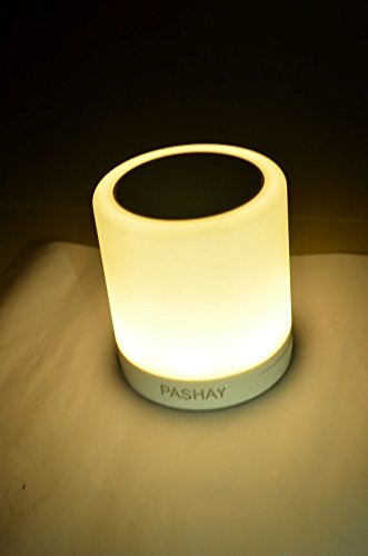 Smart Wireless Bluetooth Speaker Portable Touch Lamp Music PASHAY BRAND MP3/MP4 Players at amazon