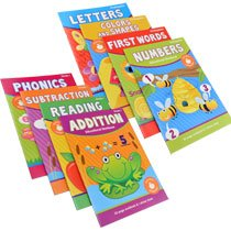 Download Kindergarten & First Grade Educational Workbooks Multipack PDF