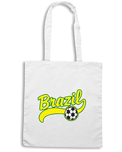 Bianca WC0039 Shirt BRSILE BRAZIL Speed Shopper Borsa pxWt6n6q8