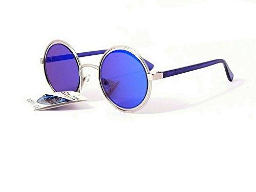 Cityvision Homme Verres De Rondes Bleu Soleil Revo Branches Lunettes 014292 Ronds Femme SfqXHSx