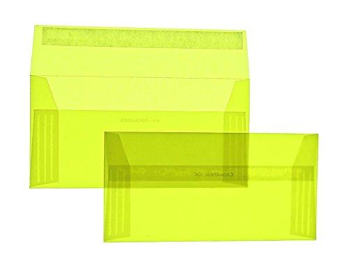 Farbige Transparent-Hüllen   Premium   110 x x x 220 mm (DIN Lang) Gelb (250 Stück) mit Abziehstreifen   Briefhüllen, KuGrüns, CouGrüns, Umschläge mit 2 Jahren Zufriedenheitsgarantie B01CES7QGG | Günstigen Preis  6794b3