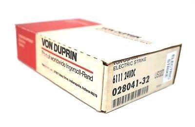 (NEW VON DUPRIN 028041-32 ELECTRIC DOOR STRIKE 6111 02804132)
