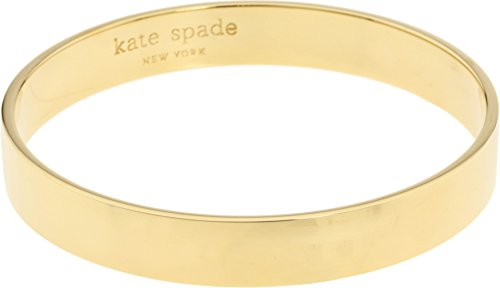 - Kate Spade New York Womens Idiom Bangles Solid Gold Gold One Size