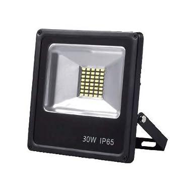 Alverlamp LPRO3041_C - proyector LED 30W 4000K smd negro: Amazon ...