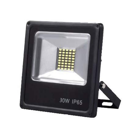 Alverlamp LPRO3041_C - proyector LED 30W 4000K smd negro: Amazon ...
