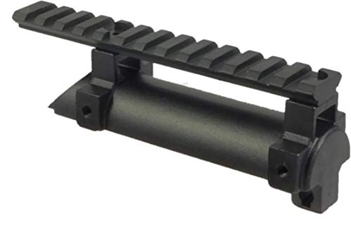 TufForce SKS Scope Mount, 9-13 Slots on Top of Receiver, 2 Extra Rails with Different Length, 3SK13R ()