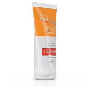 Neutrogena Rapid Clear Oil-Eliminating Foaming Cleanser, 6 Fl. Oz