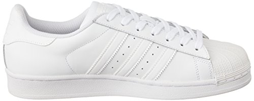 Adidas Heren Originelen Superster Stichting Trainers Us9.5 Wit