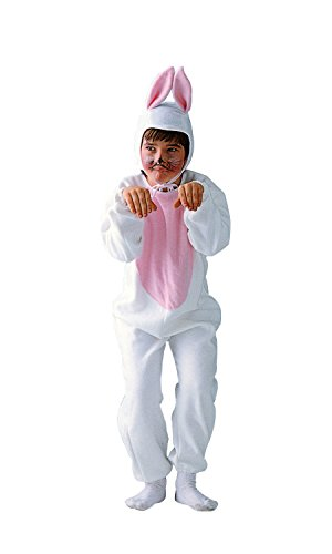 Child Medium 8-10 for 6-8 Yrs - Economy Bunny Costume (Ears do NOT Stand up as Pictured. Socks and f]()