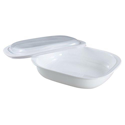 Corelle Bake, Serve, Store 3-qt Rectangle Bakeware Dish w/ Plastic -