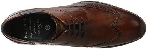 Cognac Derby 11163e 6300 Marrón Hombre Bugatti 3 para 11 w04WpxgRq