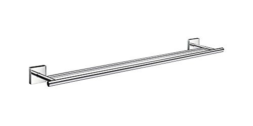 (House Double Towel Rail in Polished Chrome Finish by Smedbo)