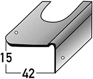 Soportes de reparación para la renovación de la escalera , para escaleras de hormigón, acero galvanizado, de 15 mm de la nariz , incl. Accesorios de montaje: Amazon.es: Hogar