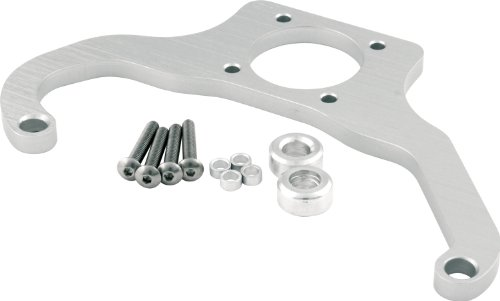Allstar ALL54290 Silver Anodized Billet Aluminum Fuel Regulator Mounting Bracket for 4500 Style Series Carburetor and Magnafuel Regulator
