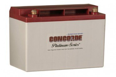 Concorde Series - CONCORDE RG-35AXC PLATINUM SERIES SEALED LEAD ACID AIRCRAFT BATTERY