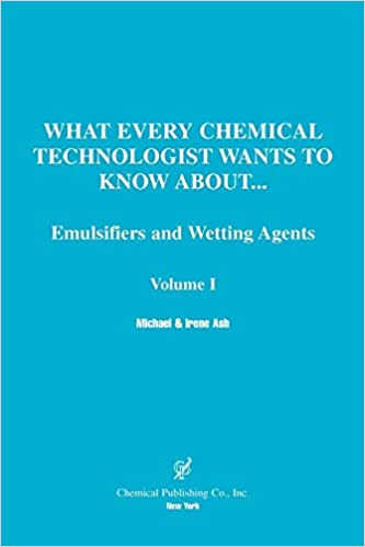 Amazon com: Emulsifier and Wetting Agents (What Every