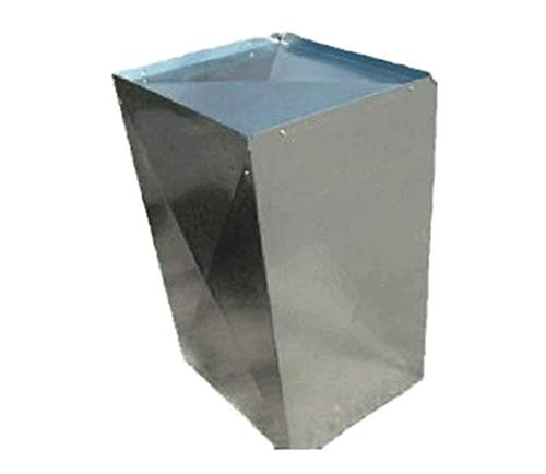 McDaniel Metals 21X20X36RF1/2 21 inch x 20 inch x 36 inch Long Insulated Sheet Metal Return Air Plenum with 1/2 inch - Mcdaniel Metals