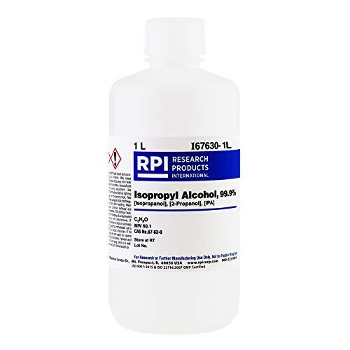 Isopropyl Alcohol 99.9%, Laboratory-Grade IPA, 1
