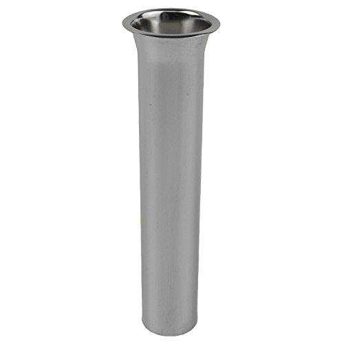LASCO 03-2705 22 Gauge Flanged Tailpiece, 1-1/4 x 8