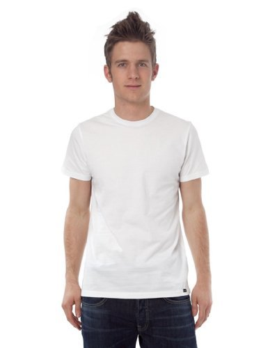 Thing About Crewneck T-shirt - LEE Men's Crew-Neck T-Shirts Tag Free -100% Cotton (XX-Large, White)
