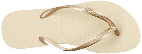 Havaianas Women's Slim Sandal Sand Grey/Light Golden w7lRLo8