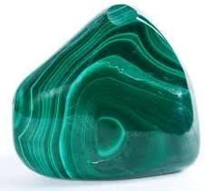 Amazon.com: Malachite Tumbled Stone Gemstone Crystal Healing Rock Wiccan Supplies/Black Velvet Bag/Info Sheet by GYPSY PALACE: Health & Personal Care