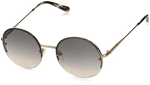 (Bobbi Brown Women's The Lennon/s Round Sunglasses GOLD COPPER 55 mm)