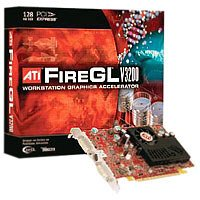 - ATI Technologies 100-505084 FireGL V3200 128MB DDR SDRAM PCI Express x16 Graphics Card