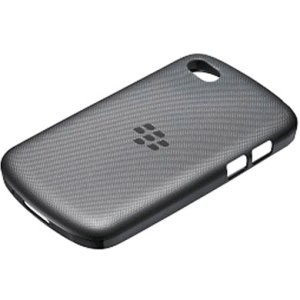 BlackBerry ACC-50724-301 Black Soft Shell Cover for Rim BlackBerry Q10- Retail Packaging - Black