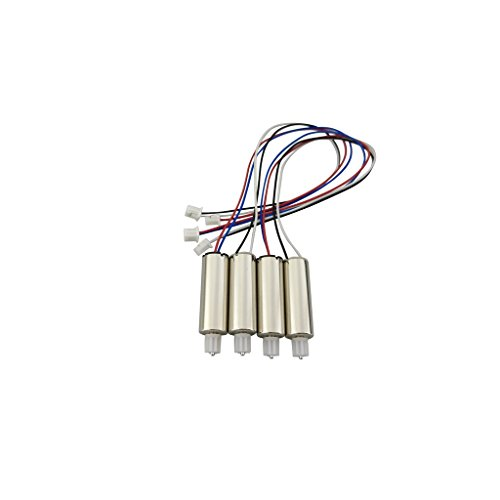 sea jump 4PCS Motor for E58 S168 Folding Quadcopter Aircraft Spare Parts Remote Control Aerial UAV Motor by sea jump