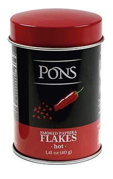 PAPRIKA FLAKES HOT SMOKED - GRUP PONS