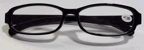 Tuff Plastic Frame 4-Pak Readers- Keep A Spare Pair Everywhere! 3.25 Strength, by American Reading Glasses