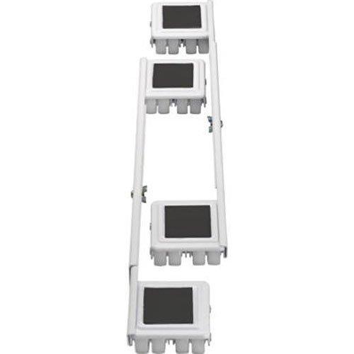 (Shepherd Hardware 9601 Stamped Steel Adjustable Appliance Rollers, 4-Pack)