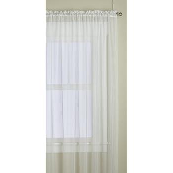 Amazon Com United Curtain Batiste Semi Sheer Window
