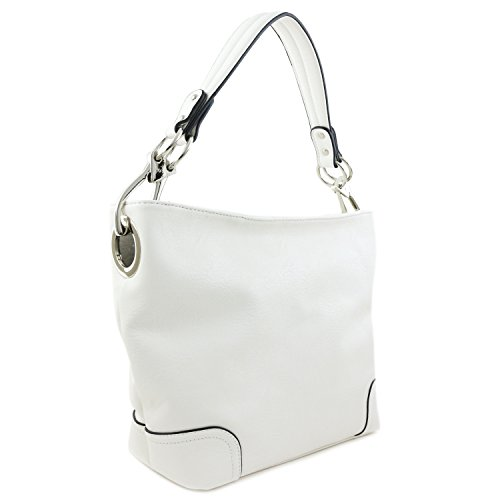 White Hobo Handbags - 1